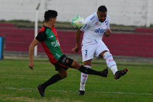 NACIONAL 0 - BOSTON RIVER 0, el 1 x 1